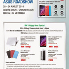 ASUS Roadshow: RM1 Happy Hour Special (Transformer Book T100, Fonepad 7 & more) |       1000Savings.com