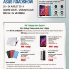 ASUS Roadshow: RM1 Happy Hour Special (Transformer Book T100, Fonepad 7 & more) |       1000Savings.com
