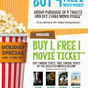 TGV Cinemas: Buy 1 FREE 1 Holiday Special