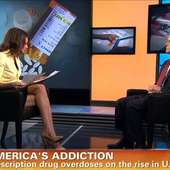 American Morning's Kiran Chetry And Christine Romans - Sexy Leg Cross 19
