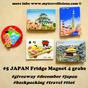 Dec2013 #giveway: 5 JAPAN Fridge Magnets to grab