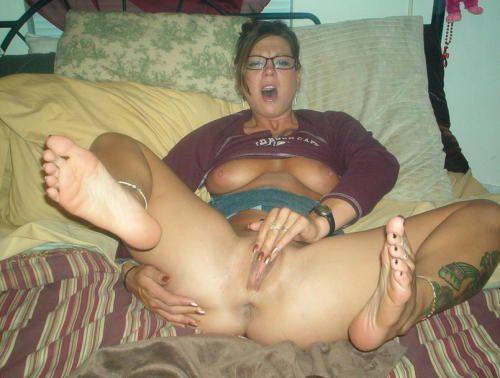 Masturbating In A Limousine