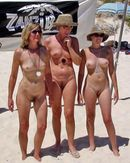 neobarbarians:Bonnie, Trisha and Marcy�  the three moms at the nude