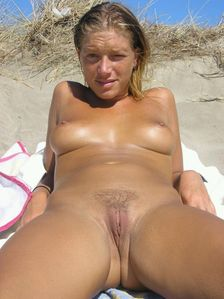 Gorgeous smooth nudist looking at the camera !  | Nudist Life