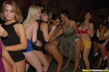 Hot girls gone wild at the party