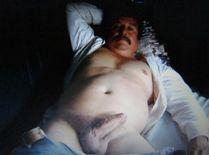 senioretgay2:Beefy Mexican Daddy�love his fat cock!
