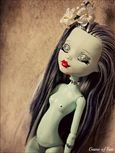 high doll custom frankie doll custom monster high monsters nude