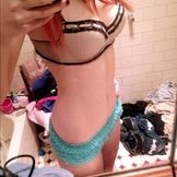 perfectpathetic:Have a half naked selfie cause I�m happy with my