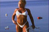 HOTTEST DIVAS: Trish Stratus Bikini Cameltoe