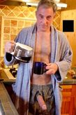 cock:Dad knows how much I enjoy morning coffee with him :)Huge cock