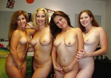 Very sweet group of naked girls