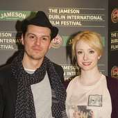 Andrew With Co-star Fiona Glascott (Anton Chekhov's The Duel)