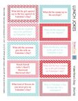 Valentines Lunch Box Jokes � Free Printable
