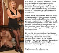mistress scarlet s captions photo  Mistress Captions � Photo