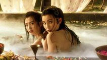 Maggie Cheung naked river bathing with Joey Wong?