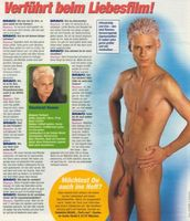 nudeboysblog:Sexy Boy Posing Nude For The German Teen Magazine BRAVO
