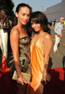 Megan Fox and Vanessa Hudgens - Cleavage - Wardrobe malfunction