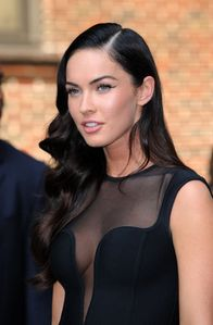 Megan Fox - Seethru - Wardrobe malfunction
