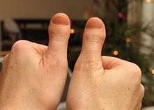 for toe thumb, it�s all Megan Fox�s toe thumbs that pop up