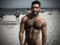 hairy gods hot hairy men nude beach
