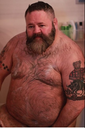 like fat guys: bearhumble: This is a real bear daddy�