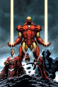 aquarianmechanicsxiii:Iron man with the Avengers(From Marvel com)