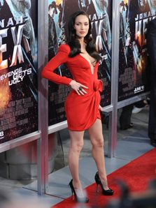 Megan Fox - Sideboob - Legs - Wardrobe malfunction