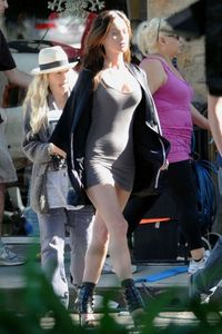 Megan Fox - Cleavage - Legs - Wardrobe malfunction