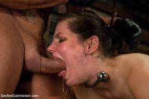 Bondage  Bobbi Starr endures extreme rough sex and hard kinky bondage