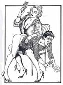 Spanking Art  feminization: SissyHusbandSpanked Found at