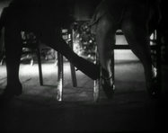 soumamitsuko:Footsie under the table Louise Brooks, Diary of a Lost