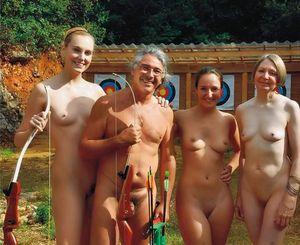 nudistlifestyle: Nudist family photo ! - As the day i was born