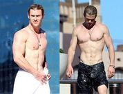 Chris Hemsworth Caught Half Naked in Sydney (via IBTimes