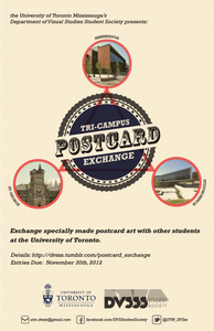 Studies Student Society (DVSSS) will be hosting a postcard exchange