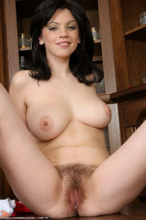 Sexy Brunette Teen With Hairy Pussy Solo