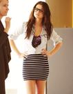 Selena Gomez  Selena's Style #6: Sweat pants, hair tied, chillin