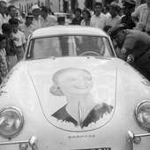 Jacqueline Evans De Lopez Porsche 356 Dnf Over Time Limit Iv Carrera