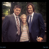 All-spn:Jensen, Brit And Jared On 8.04