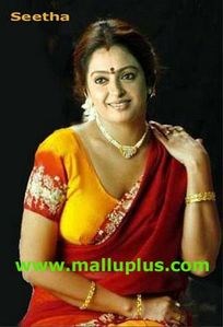 Sexy Actress Gallery: SEETHA AUNTY (9)