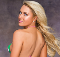 Natalie Gulbis Body Painting [photos]