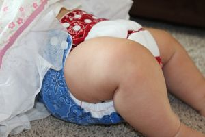 Young Mama's Reviews: My Cute Genes Cloth Diaper Giveaway!!!!-closed