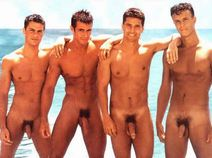 see hunks in the nude at the beach inside