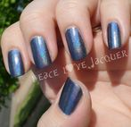 Peace Love Lacquer: China Glaze Hologlam  Strap on Your Moonboots