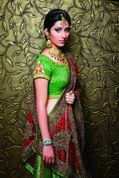 pankhuri new images pankhuri is looking beautiful wearing bridal