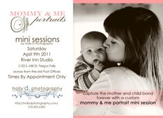 Holly D Photography & Designs: Mommy and Me Mini Sessions!