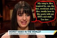 , WHATEVER, music snobs. You people are just JEALOUS of Rebecca Black
