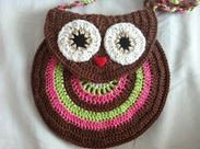 My World: Owl Purse free pattern and master class .