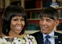 barack+obama+with+michelle+obama+bangs jpg