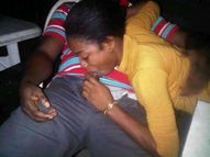 Another Girl Caught Giving Boyfriend Blow Job in Public  CKN Nigeria