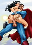penerotic: Superman Wonder Woman XXX